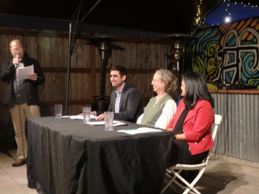 Citizens' Climate Lobby and Cascadia Climate Action put on a Forum to hear Rep. Brady Walkinshaw and Senator Pramila Jayapal speak about Climate and the Environment. We had an excellent turnout of around 100 people at the Peddler's Brewery. Both candidates had a terrific understanding of the climate crisis with the exception of the moderator, Lynda Mapes from the Seattle Times question about dams on the Columbia and Snake Rivers. Both have a plan for the Climate Crisis. Rep. Walkinshaw's priority is the effects of climate on agriculture and our food system. He supports the Revenue Neutral Carbon Tax initiative I-732 and he signed an endorsement for Citizens' Climate Lobby's National proposal of a Carbon Fee and Dividend. Senator Jayapal' priority is Social Justice issues , in which she has excellent experience. She also supports the Climate Justice proposal of Cap and Trade, because she believes that collecting the money, rather than giving it back to citizens, can be put to better use to help vulnerable communities, and to have focused research and development. Both Candidates support progressive issues and we are lucky to have such a choice for our Congressional District #7